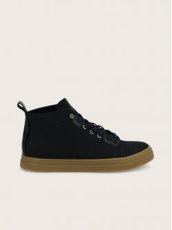 SPARK HIGH CUT - LONA - BLACK SOLE L.GUM**WM