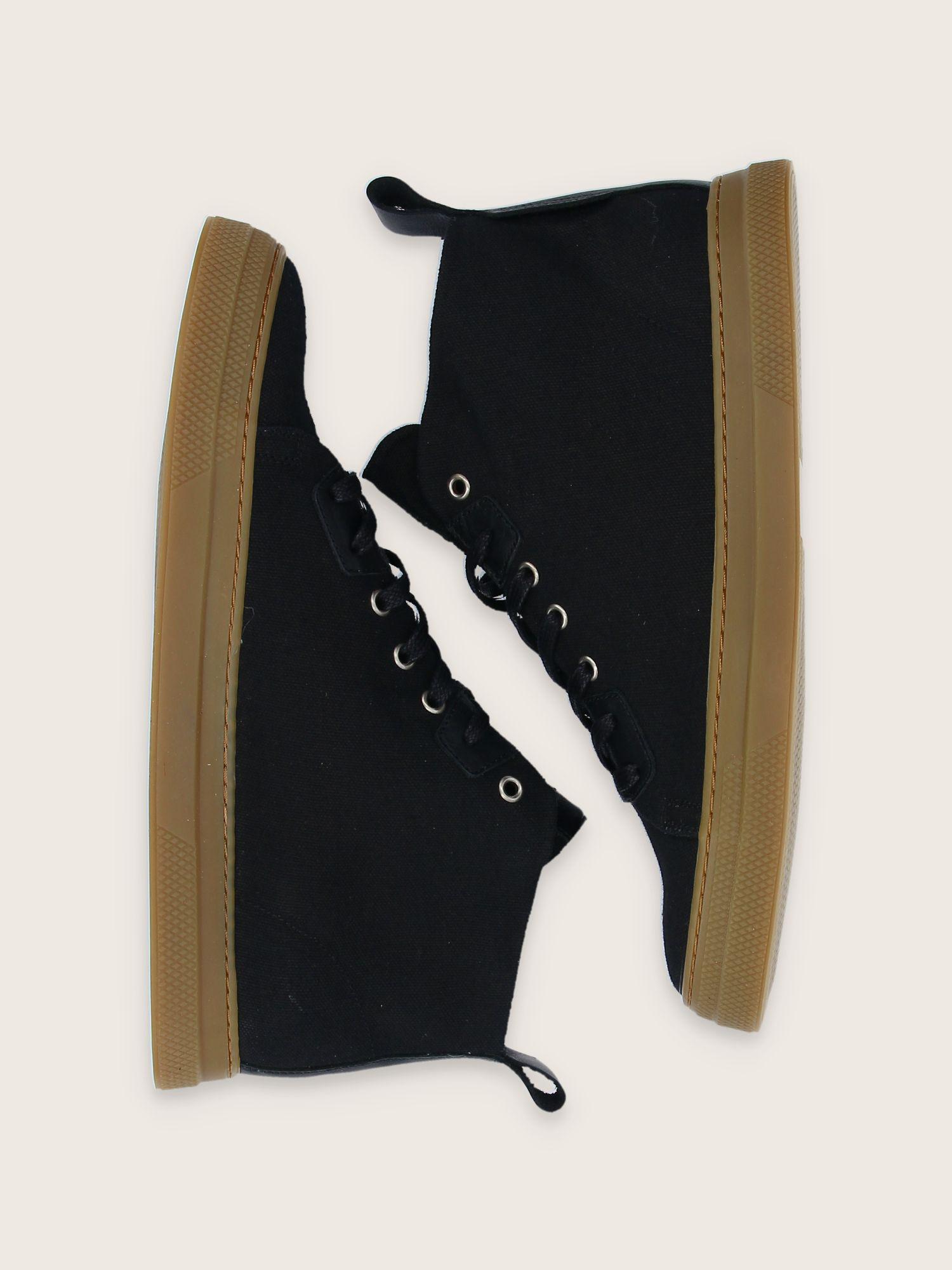 schmoove.fr SPARK HIGH CUT - LONA - BLACK SOLE L.GUM**WM