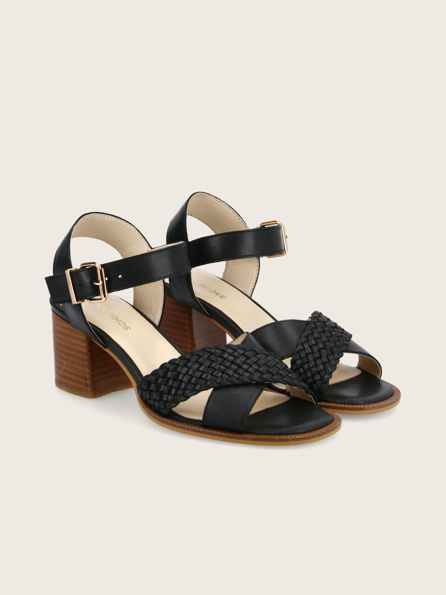 schmoove.fr CARLOTA SANDALE - CALF LEATHER - BLACK