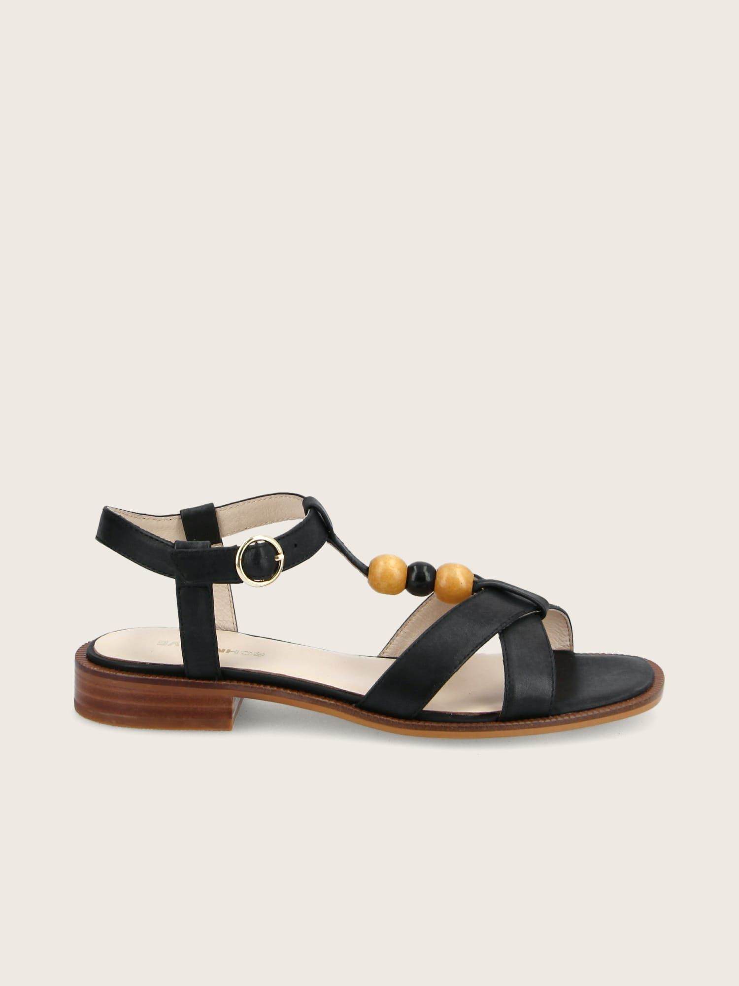 schmoove.fr RUBY PEARL - CALF LEATHER - BLACK
