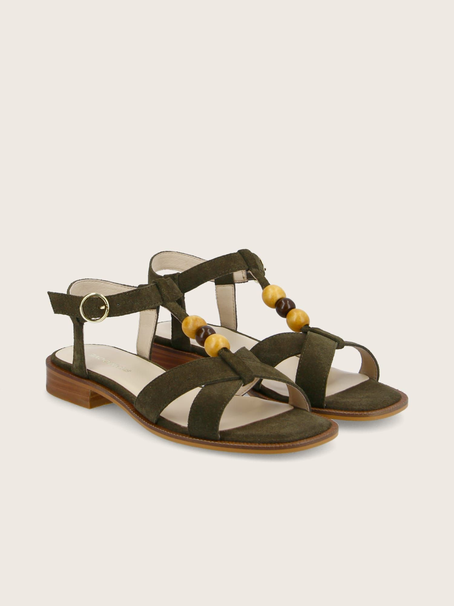 schmoove.fr RUBY PEARL - COWSUEDE - OLIVE