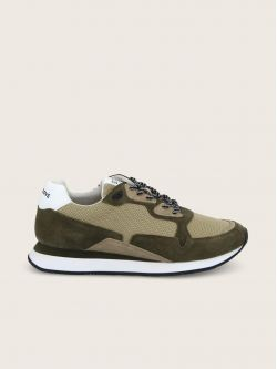 TRAIL RUNNER - COWSUEDE/GATE - OLIVE/ALMOND