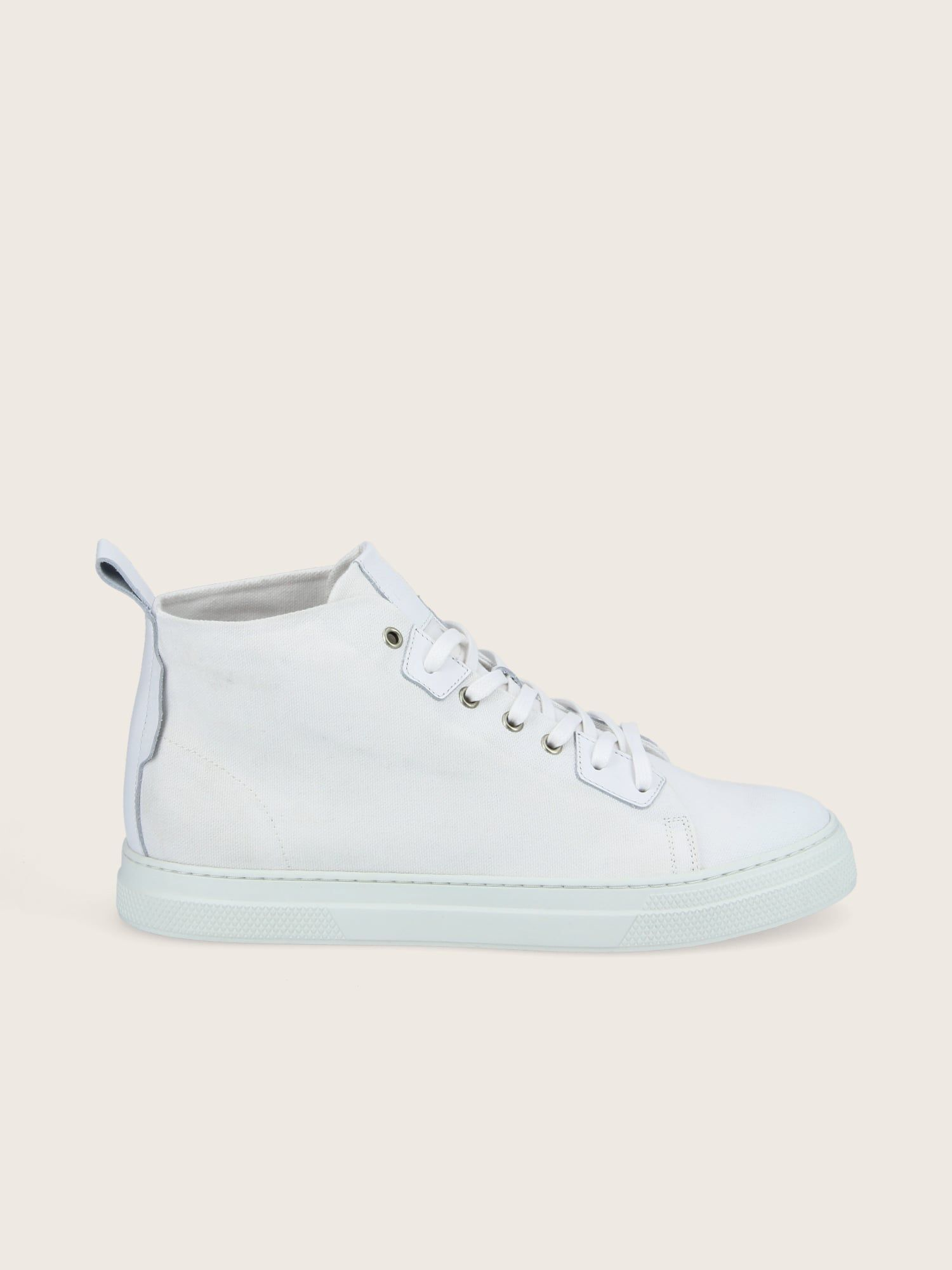 schmoove.fr SPARK HIGH CUT - LONA - WHITE SOLE WHITE