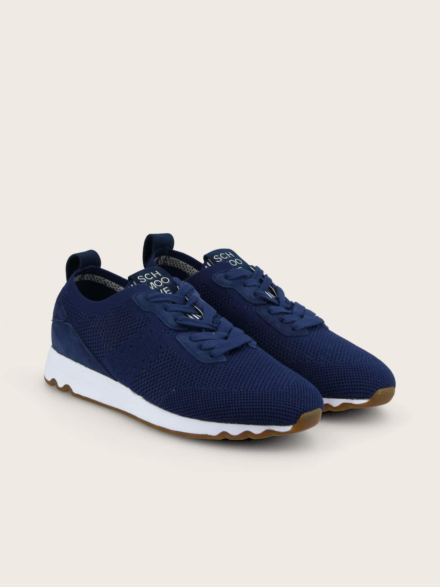 schmoove.fr KITE RUNNER - FLEX RECYCLED - NAVY/DOVE