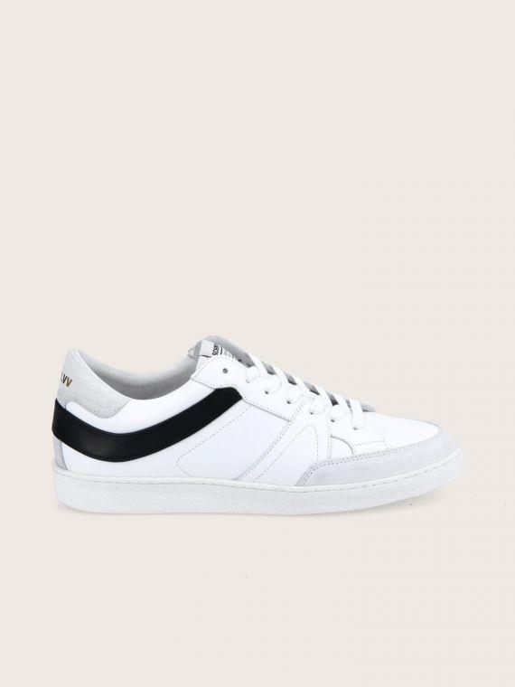 GRAF SNEAKER M - NAPPA/NAPPA - WHITE/BLACK