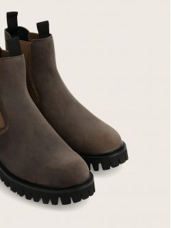 STOMP CHELSEA - OIL SUEDE - TAUPE