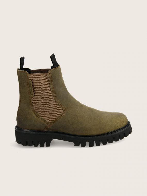 STOMP CHELSEA - OIL SUEDE - OLIVE