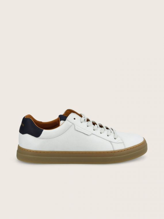 SPARK CLAY - NAPPA/OIL SUEDE - OFF WHITE/NAVY