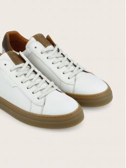 SPARK CLAY - NAPPA/OIL SUEDE - OFF WHITE/COFFEE