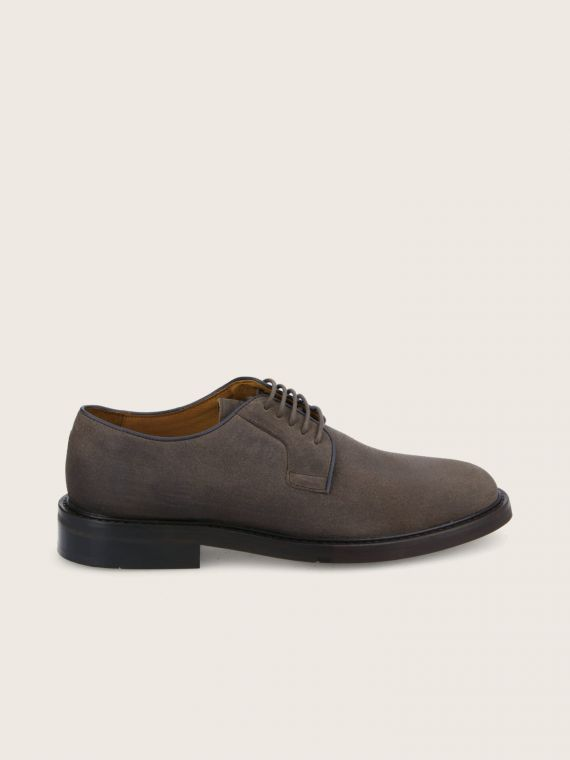 WOLF DERBY - OIL SUEDE - TAUPE