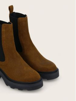 MIKE CHELSEA - OIL SUEDE - CHESTNUT