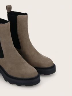 MIKE CHELSEA - OIL SUEDE - TAUPE
