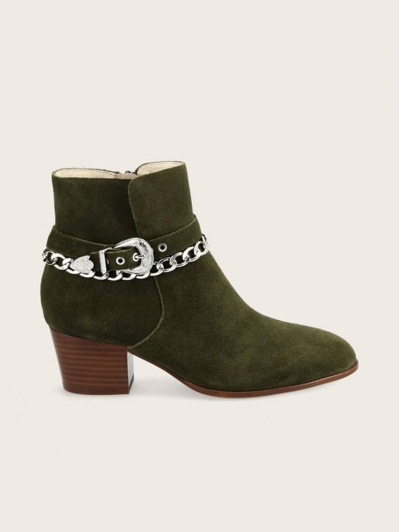 STORY BUCKLE - SUEDE - BROUSSE