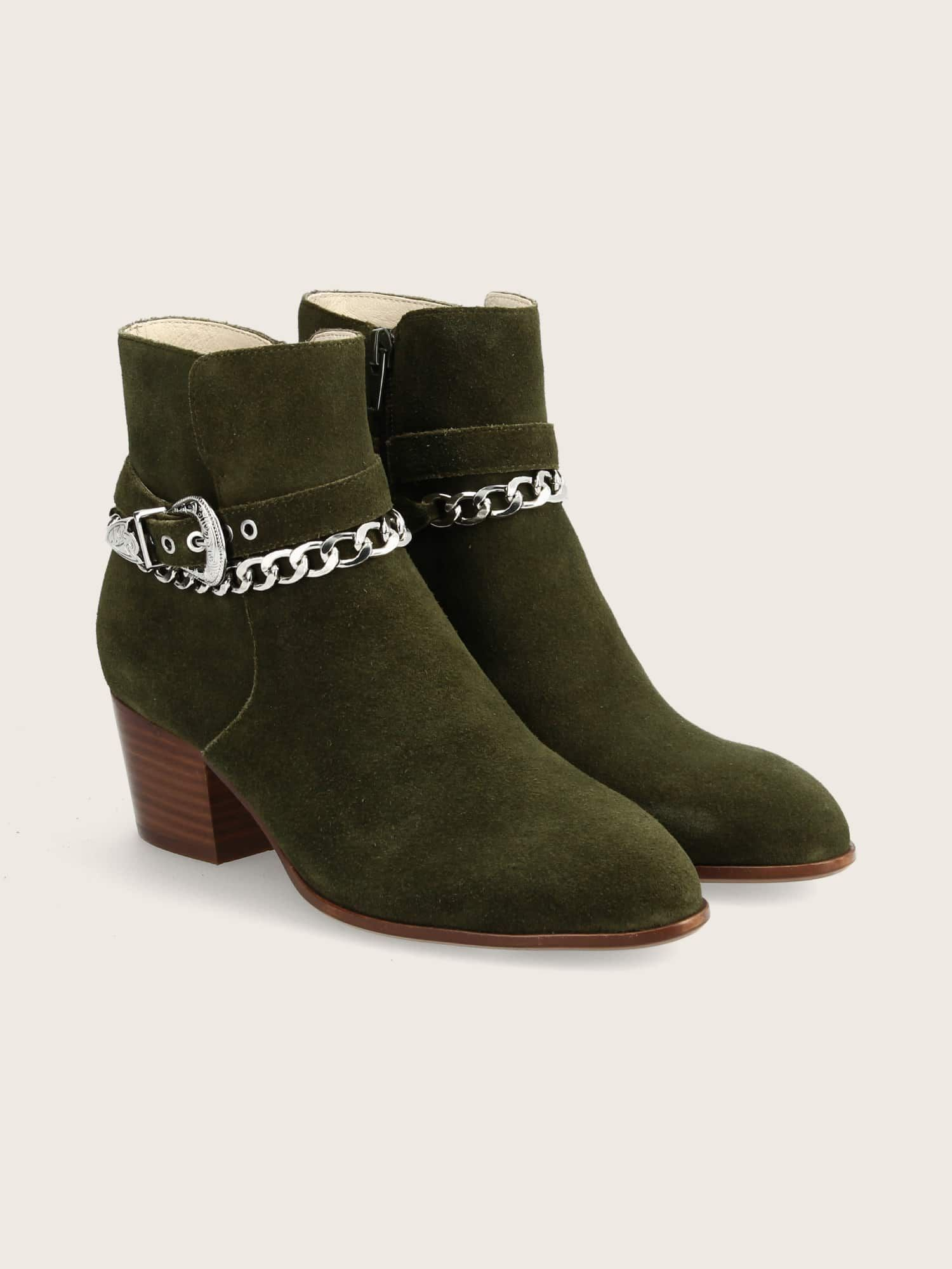 schmoove.fr STORY BUCKLE - SUEDE - BROUSSE
