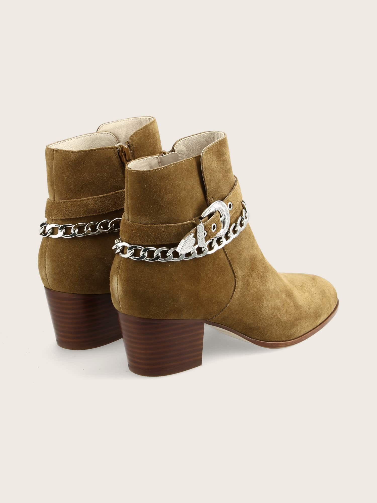 schmoove.fr STORY BUCKLE - SUEDE - CHAMOIS