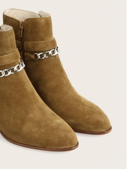 STORY BUCKLE - SUEDE - CHAMOIS