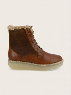 PALLAS MID LACE - BREZZA/OILSUEDE - WHISKY/CHESTNUT