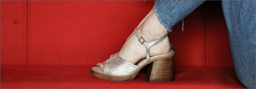 Sandals with heel schmoove.fr
