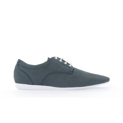 FIDJI NEW DERBY - NUBUCK - NAVY SOLE WHITE