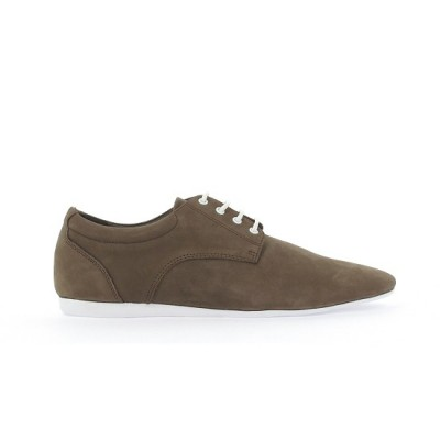 FIDJI NEW DERBY - NUBUCK - BROWN SOLE WHITE