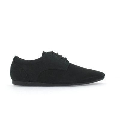 FIDJI NEW DERBY - NUBUCK - BLACK SOLE BLACK
