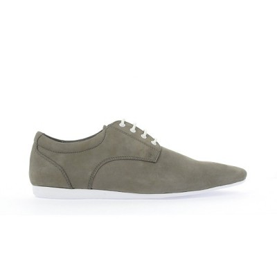 FIDJI NEW DERBY - NUBUCK - GREY SOLE WHITE