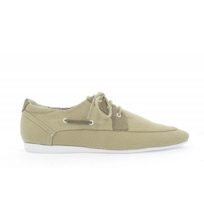 FIDJI ISLAND - CANVAS/NUBUCK - SABLE/TAUPE